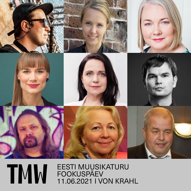 Eesti muusikaturu fookuspäeva panelistid